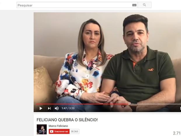 Pastor grava vídeo e se diz inocente (Crédito: Reprodução)