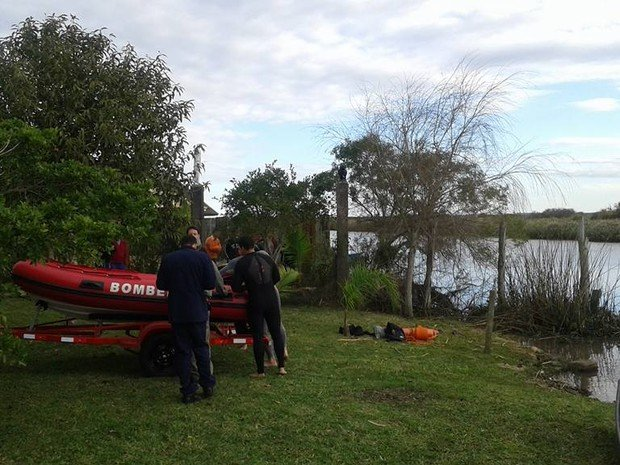 Corpo de menino foi localizado após buscas no Rio Tramandaí