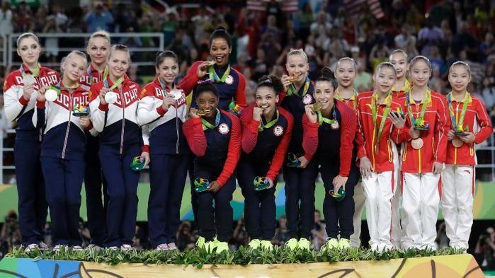Estados Unidos, Rússia e China fizeram o pódio da final  (Crédito: AP)