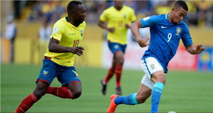 Brasil vence Equador por 3 a 0  (Crédito: MOWA Press)