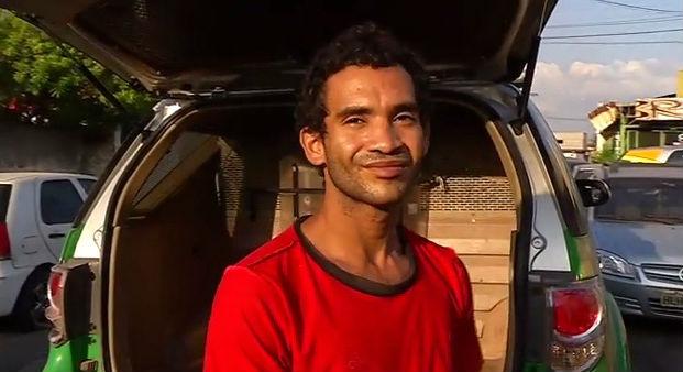 Wanderley Pereira da Silva, acusado de arrombar um supermercado