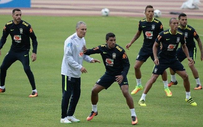 Tite fará sua estreia na seleção brasileira  (Crédito: Mowa Press  )