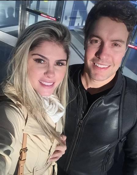 Barbara Evans e seu namorado (Crédito: Reprodução/Instagram)