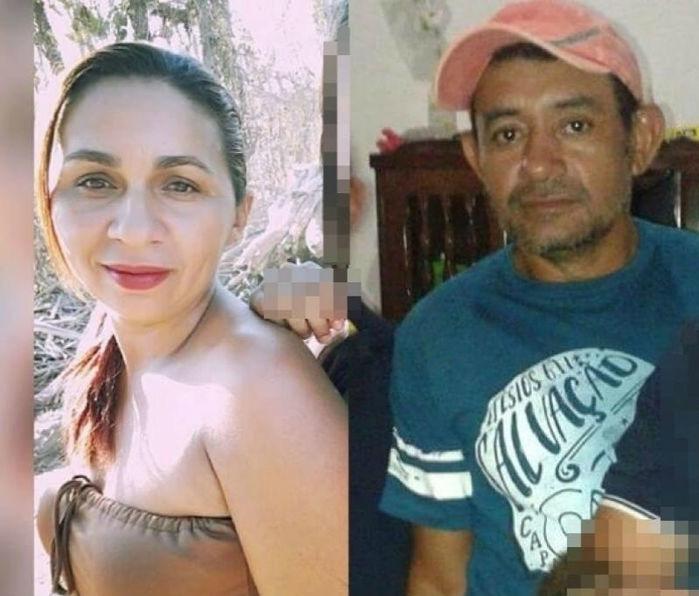 Casal assassinado a golpes de faca em Itainópolis (Crédito: Picos 40 graus)