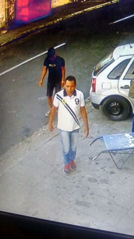 Imagens de câmera de segurança (Crédito: Plantão Policial Piauí)