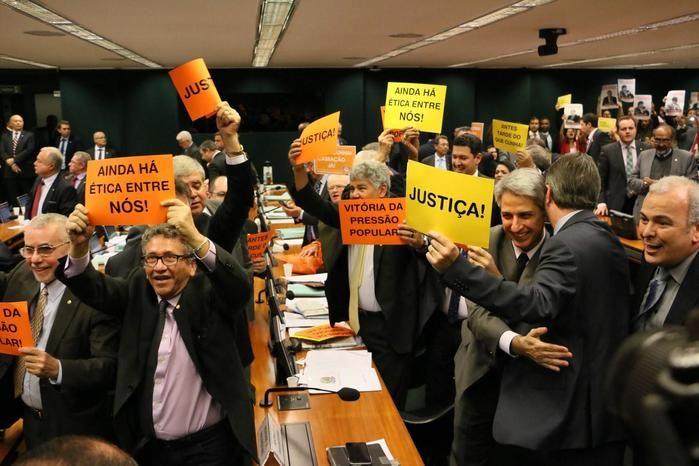 Cassação contra Eduardo Cunha (Crédito: Reprodução)