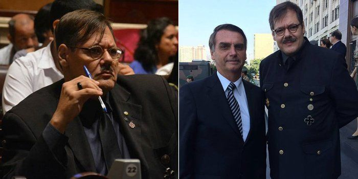Defensor de Adolf Hitler é candidato a vereador do Rio pelo PSC (Crédito: Reprodução)