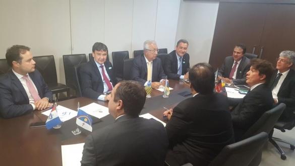 Wellington Dias se reúne com governadores no Distrito Federal  (Crédito: :Doroty Amaral)