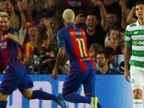 Barcelona goleia Celtic por 7 a 0 com espetáculo de Messi e Neymar