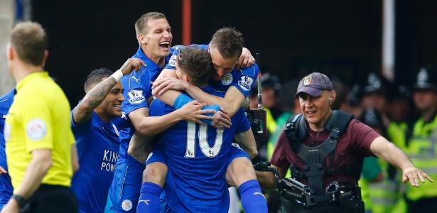 Atual campeão inglês, Leicester vai estrear na principal competição da Europa (Crédito: Reuters)