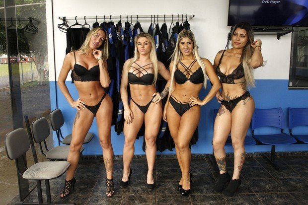 Candidatas a Miss Bumbum (Crédito: Ego)