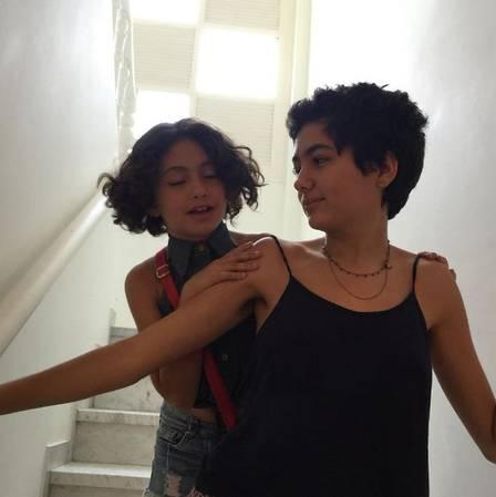 Filha de Camila Pitanga (Crédito: Reprodução)