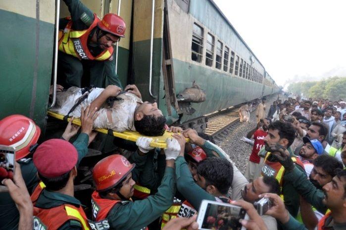 Muitas pessoas ficaram feridas