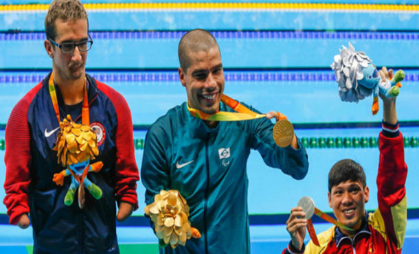 Brasil chega a 48 medalhas na Paralimpíada Rio-2016