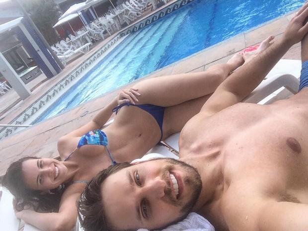 Elieser e Kamila (Crédito: Reprodução/ Instagram)