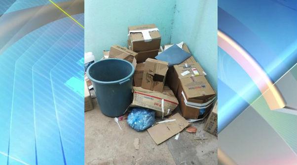 Lixo exposto