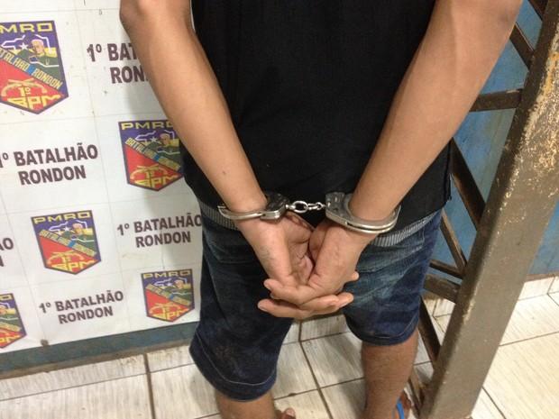 Suspeito de cometer o crime (Crédito: Reprodução)