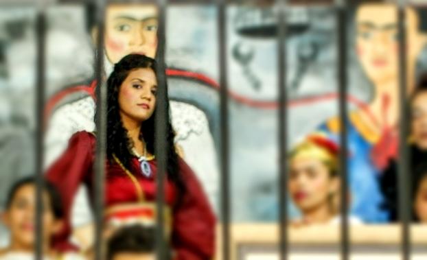 Detenta identificada como Ingrid Leal de Sousa (Crédito: Divulgação)