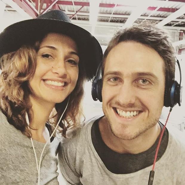 Camila Pitanga e Igor Angelkorte (Crédito: Reprodução)