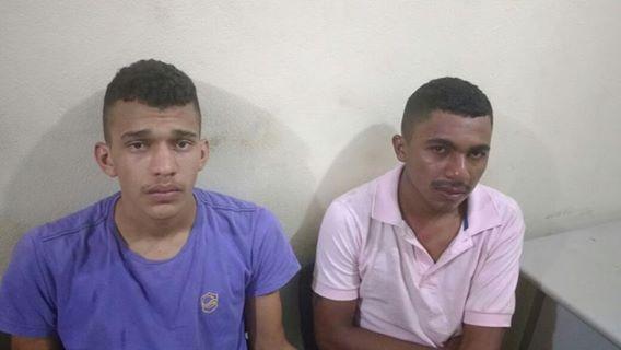 Os dois acusados de vários arrastões (Crédito: Divulgação)