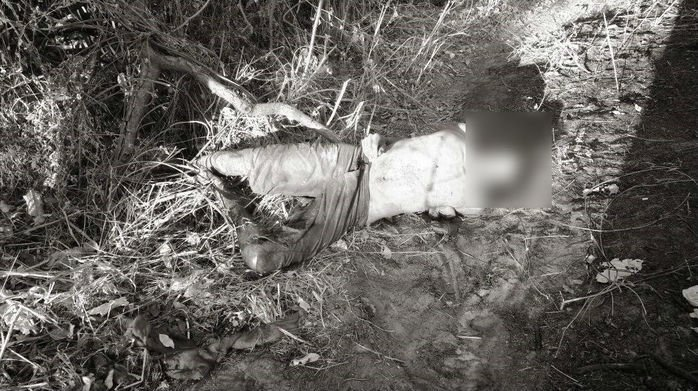 Corpo encontrado próximo da Ponte Metálica em Timon (Crédito: Divulgação)