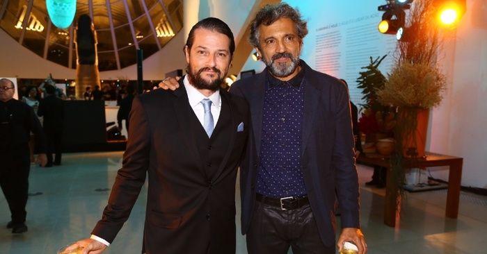 Marcelo Serrado e Domingos Montagner (Crédito: Reprodução)