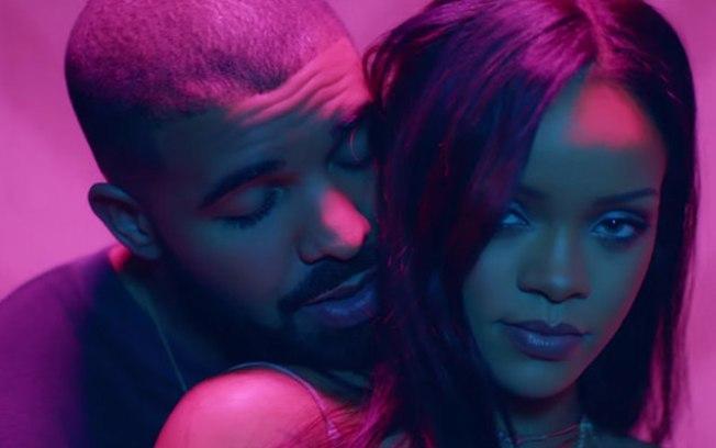 Rihanna e Drake (Crédito: Reprodução)