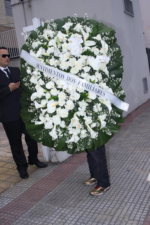 Amigos e familiares se despedem de Domingos Montagner  (Crédito: Thiago Duran/Agnews)
