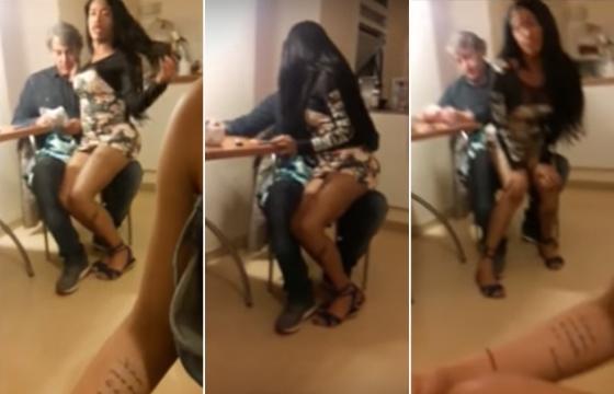 Vazam vídeos de Alexandre Borges com travestis (Crédito: Reprodução)
