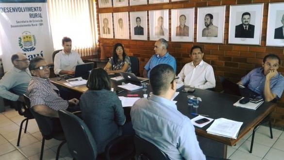 Gestores estaduais e consultores do Banco Mundial operacionalização do Progere II
