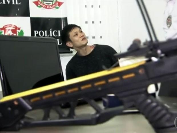 Acusado foi preso (Crédito: Reprodução)