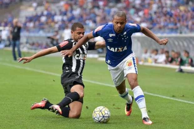 Cruzeiro e Atlético empatam por 1 a 1 no Mineirão (Crédito: Reprodução)