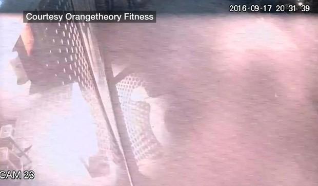 Câmeras flagraram explosão (Crédito: Reprodução)