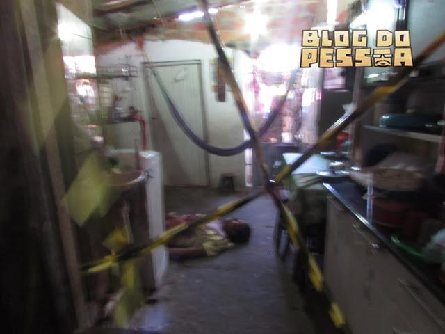 Vítima morreu ainda no local (Crédito: Reprodução)
