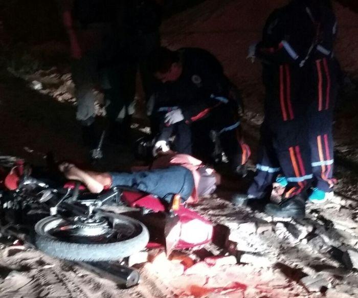 Jovem morto enquanto conduzia moto