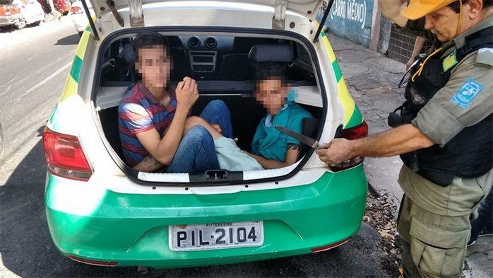 Jeferson Carvalho Moreira, e Luís Rhamon Félix (Crédito: Divulgação)