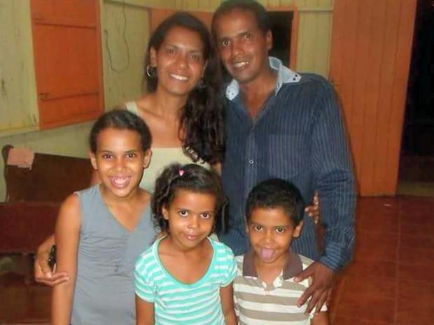 Família foi morta durante acidente na rodovia BR-364 (Crédito: Arquivo Pessoal )