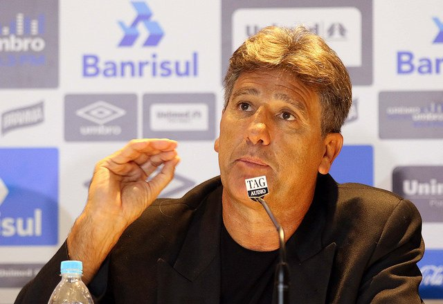 Renato gaúcho é o novo técnico do Grêmio (Crédito: Divulgação)