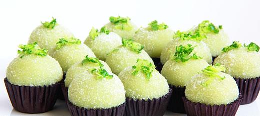 Brigadeiro Torta de Limão (Crédito: Reprodução)