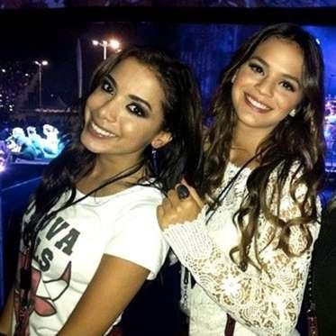 Anitta e Marquezine: amizade estremecida (Crédito: Divulgação)