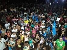O maior comício na zona rural da história de Parnarama.
