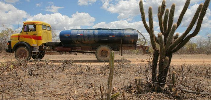 Operação Carro-pipa no Piauí (Crédito: Divulgação)