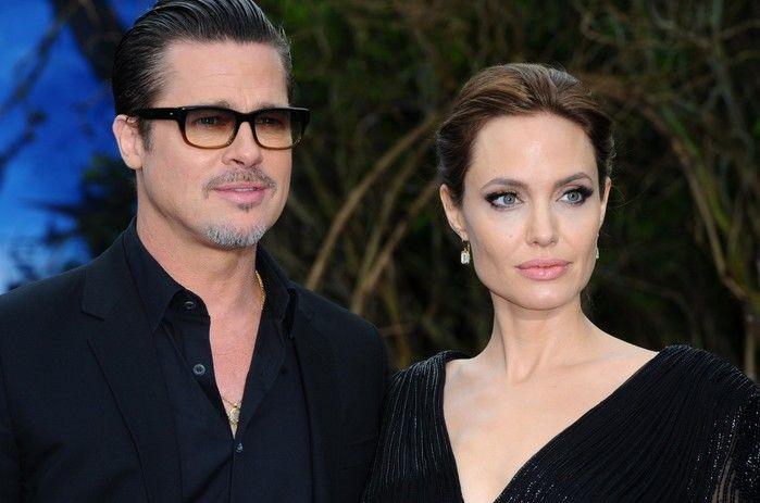 Brad Pitt e Angelina Jolie (Crédito: Reprodução)
