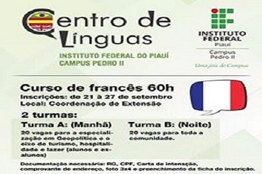 Centro de Línguas do IFPI Campus/Pedro II implantará novo curso