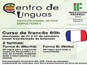 Centro de Línguas do IFPI Campus/Pedro II implantará novo curso