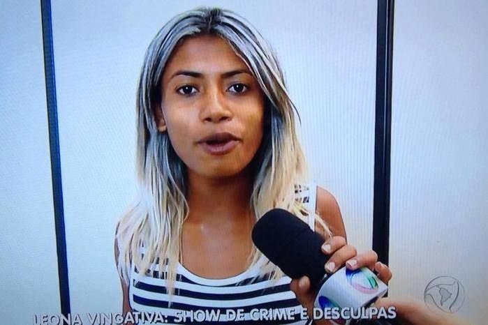 Leona Vingativa foi detida em Belém (Crédito: Divulgação)