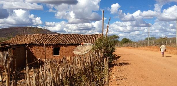 Paisagem típica do semiárido na área do Parque Nacional Serra Capivara, no interior do Piauí (Crédito: Uol)