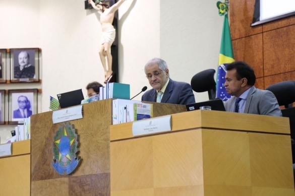 Segurança nas eleições municipais foi debatida em reunião no TRE-PI (Crédito: Tavynho Neto)