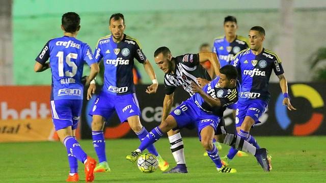Palmeiras perde para o Botafogo-PB (Crédito: Site Palmeiras )