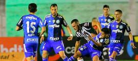 Palmeiras perde para o Botafogo-PB, mas avança para as quartas